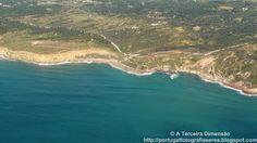 A Terceira Dimensão - Fotografia Aérea: Praia da Foz (Cabo Espichel)