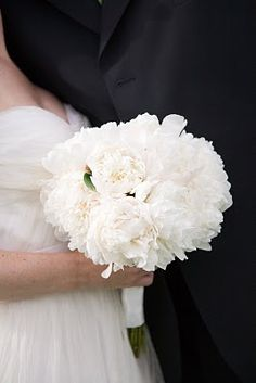 Peony Bouquets  DREAM WEDDING