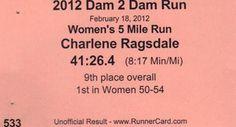 Dam2Dam 5 Miler - 2012