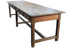 antique farm table | large-antique-farm-table-from-french-convent-1.jpg