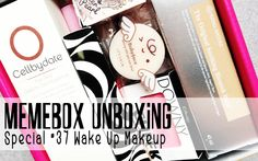 Prairie Beauty: Memebox Special #37 Wake Up Makeup Unboxing