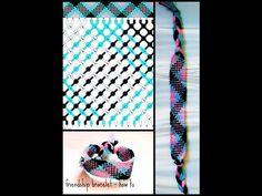 Afbeeldingsresultaat voor friendship bracelets patterns plaid