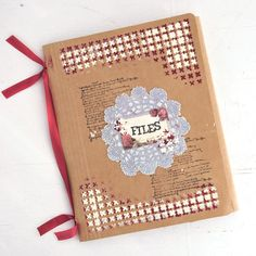 Free Project Inspiration: A Mixed-Media Solution to the Ordinary File Folder