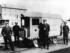 1921 Roma Rail Motor Ambulance