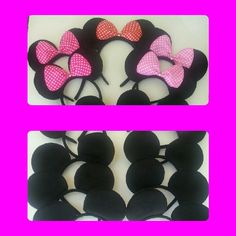 30 DEAL of the WEEK! 1.40 ea  Stunning Big Bow Minnie ear Headband Only by LITTLETREASURE4U on Etsy