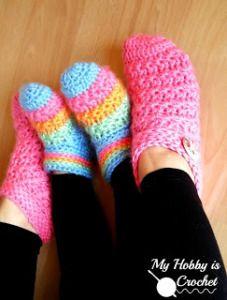 Starlight Slippers - My Hobbie Is Crochet