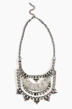 Kiona necklace $25 nastygal.com