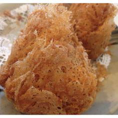 Deep fried Taro Croquettes sub a veggie filling
