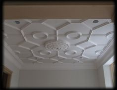 Plaster Patterned Ceiling Relief - PCR-012-PL