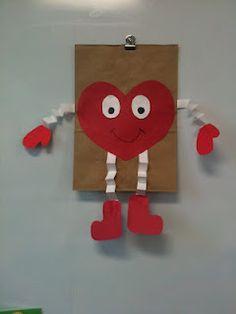cute monster valentine bag idea school pinterest monsters bag and school