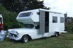 1955 Chevy camper.