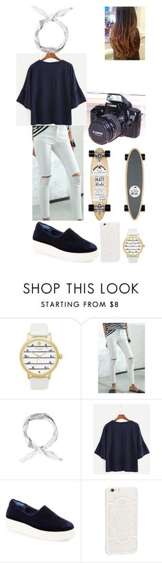 """""""..."""" by filipa-oliveira-lipa ❤ liked on Polyvore featuring Kate Spade, Eos, Isabel Marant, Steven by Steve Madden and JFR"""