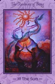 Example card from the Tarot of Transformation deck. DISCOVER MORE HERE: http://www.tarotacademy.org/the-tarot-of-transformation-chart-your-own-course-to-healing-and-spiritual-awakening/