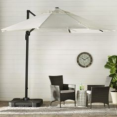 Shop Now - >  https://api.shopstyle.com/action/apiVisitRetailer?id=515701730&pid=uid6996-25233114-59 Brayden Studio 10' Cantilever Umbrella  ...