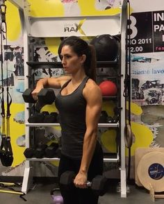 "11.6k Likes, 298 Comments - Alexia Clark (@alexia_clark) on Instagram: ""Not your average upper body workout! This ones is going to rock your shoulders! 1. 12 reps 2. 10…"""