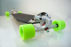 Downhill Machine - Longboard Skateboard by Nuno Pereira » Yanko Design