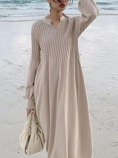 Women's Fashion Dresses, Boho Fashion, Elegant Dresses, Casual Dresses, Vintage Long Dress, Kurti Designs Party Wear, Mode Hijab, Chic Dress, Textiles
