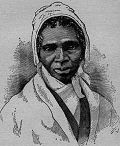 """""""That man over there says woman can't have as much rights as man, because Christ wasn't a woman. Where did your Christ come from?  From God and a woman. Man has nothing to do with him."""" Sojourner Truth, in her """"Ain't I a Woman?"""" speech."""