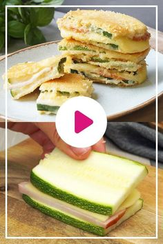 You can find out in our video how to prepare a delicious low carb variant from the classic cordon bleu with # zucchini. You can find out in our video how to prepare a delicious low carb variant from the classic cordon bleu with # zucchini. Authentic Mexican Recipes, Mexican Food Recipes, Appetizer Recipes, Snack Recipes, Dessert Recipes, Sandwich Recipes, Zucchini Cordon Bleu, Tartiflette Recipe, Allergies Alimentaires