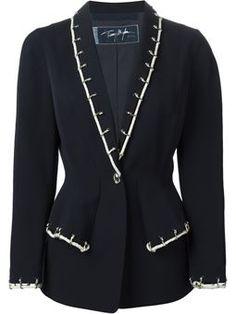 rope detail blazer