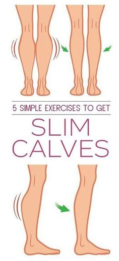5 Simple Exercises to Get SLIM CALVES. #exercise #fitness #healthy #workout #workfromhome