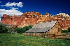 Capitol Reef Barn - Utah