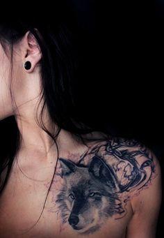 Wolf TattoosThe ancestors of the mans best friends are believed... (via Bloglovin.com )