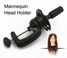 1 unid Manik pelucas Maniquí Ajustable Holder soporte para la cabeza del maniquí modelo de Formación del pelo salón de peluquería herramientas de peinado