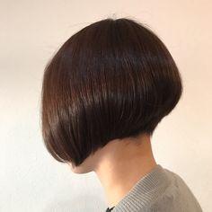 大人なワカメちゃん⭐️ #hairroomRAKU #浜松市美容室 #中区上島 #刈り上げボブ - rakuhair