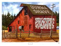 """""""The Red Barn"""" by Alfred Owles"""