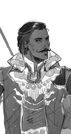 will i ever stop drawing dorian - credit to siriusdraws.tumblr.com
