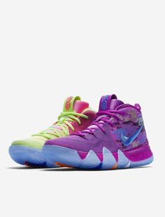Factory Authentic Nike Kyrie 4 Confetti Mens Basketball Shoes December 16 2017 Size 11 For Sale Kyrie Irving Basketball Shoes, Kyrie Irving Shoes, Girls Basketball Shoes, Volleyball Shoes, Basketball Sneakers, Sports Shoes, Latest Sneakers, Sneakers Fashion, Running Shoes Nike