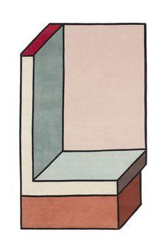 Tapis abstrait by Urquiola  MilK decoration
