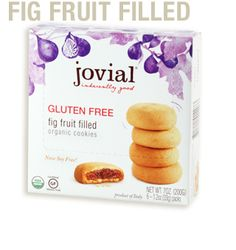 Fig Fruit Filled Cookie - aka gluten free fig newtons. Soooo delish ...