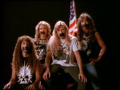 Haha, to the tape. One of my top five favorite bands. --Pia (Megadeth)