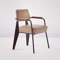 #p79 Jean Prouvé 'Direction' armchair, model no. 352, circa 1951, auctioned at Phillips New York . Estimate $25,000-35,000 (USD) Sold for $62,500 at 2012
