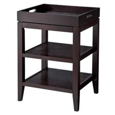 Accent Table with Removable Tray - Black I Target