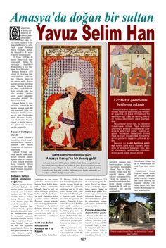 Hüseyin Menç/Tarih İçinde Amasya/ Yavuz Sultan Selim Han