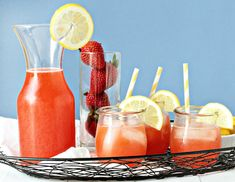 Post image for Homemade Strawberry Lemonade