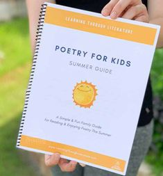 Poetry for Kids Summer Guide is a Simple & Fun way for families to for Read and Enjoy Poetry ver the Summer. Poetry Books For Kids, Kids Poems, Best Children Books, Summer Crafts For Toddlers, Summer Kids, Parental Guidance Movie, Read Aloud Books, Children's Books, Summer Poems