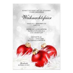 einladung weihnachtsfeier vorlage geschäftlich postcard, Einladungen