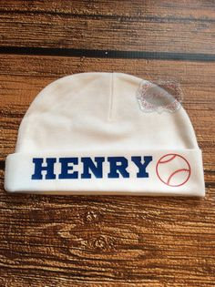Baby Personalized Newborn Hat Baby Beanie Hat Baseball Baby Shower Gift New Baby  Gift Take Home Outfit 20160821021c
