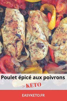 Un poulet épicé pour 5 grammes de glucides, une recette cétogène gourmande et savoureuse à déguster. #cetogene #LCHF #lowcarbs #ketogenic #keto #recettecetogene #regimeketo #ketodiet