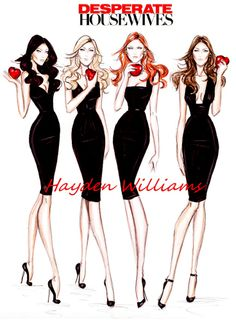Desperate Housewives by Hayden Williams