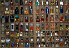 Miniature bottles of perfume from private sellers and retailers...