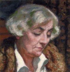 Portrait of Maria van Rysselberghe,by Theo van Rysselberghe