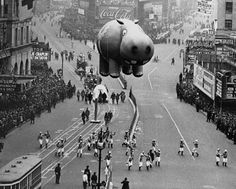 Hippo in a Macy's Parade, 1956