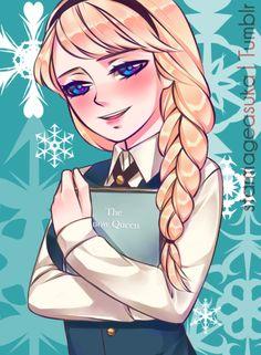 A Sibling Affair ~Snow Princess~ by starmageasuka.deviantart.com on @deviantART