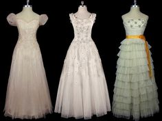 i love these old dresses