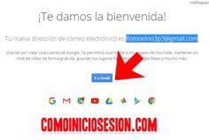Ir a la bandeja de entrada de Gmail correo. http://comoiniciosesion.com/crear-cuenta-gmail/